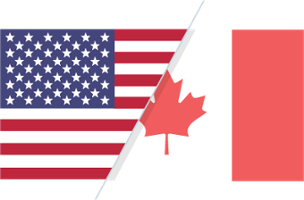 Cross border US-Canada ACH payments and wire transfers