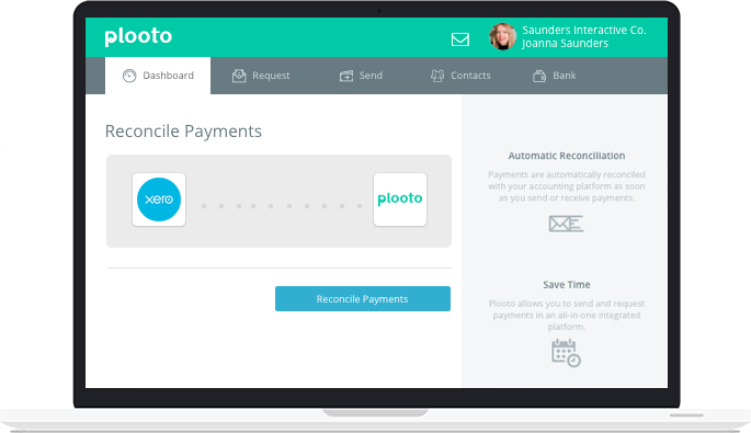 Automatic end-to-end reconciliation with Xero accounting software
